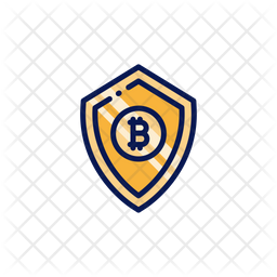 Bitcoin Shield Icon