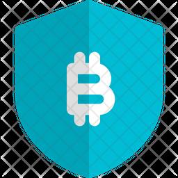 Bitcoin Shieldm Icon