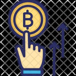 Bitcoin Startup Icon