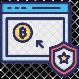 Bitcoin Stock Market Icon