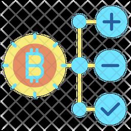 Bitcoin Structure Icon