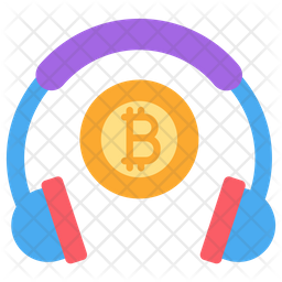 Bitcoin Support Icon