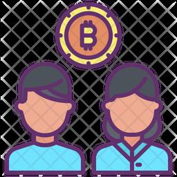 Bitcoin Users Icon