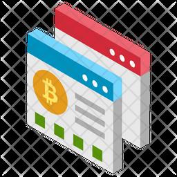 Bitcoin Web Icon