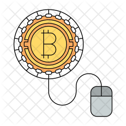 Bitcoin worker Icon