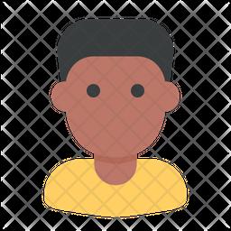 Black Boy Icon