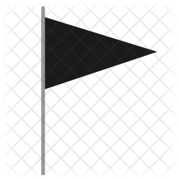 Black flag Icon