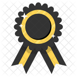 Black ribbon Icon