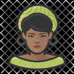 Black Woman Icon