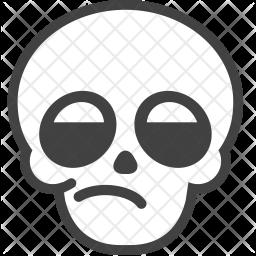 Blah Emoji Icon