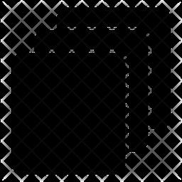 Blend Mode Glyph Icon