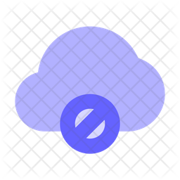 Block-cloud Icon