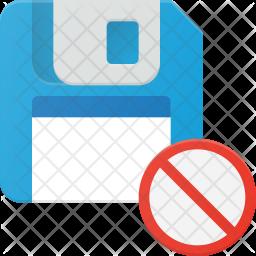Block floppydisk Icon
