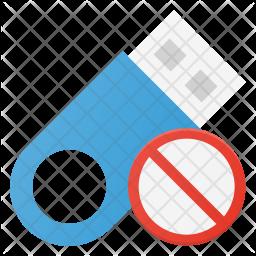 Block pendrive Icon