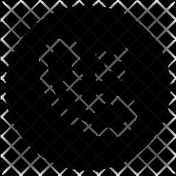 Block phone Icon