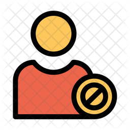 Block User Icon