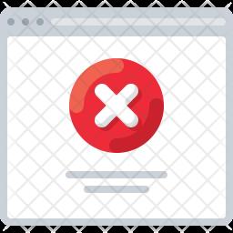 Block webpage Icon