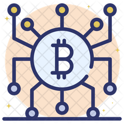 Blockchain Icon Of Colored Outline Style Available In Svg Png Eps Ai Icon Fonts