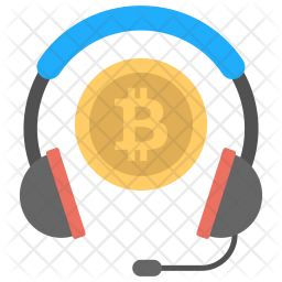 Blockchain Customer Service Icon
