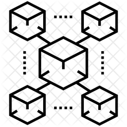 Blocks Chain Icon