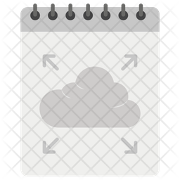 Blog Cloud Icon