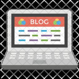 Blog Concept Icon