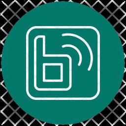 Blog, Online, Social, Logo-shop Icon