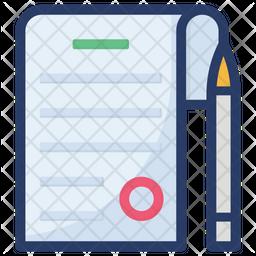 Blog Writing Icon