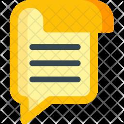 Blogging Flat Icon
