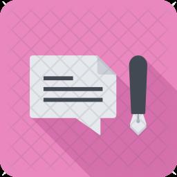 Blogging, Seo, Business, Startup, Marketing, Optimization Icon