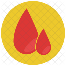 Blood drops Icon