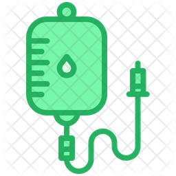 Blood Packet Icon