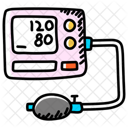 Blood Pressure Apparatus Icon