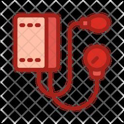 Blood Pressure Cuff Dualtone Icon