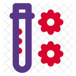 Blood Test Dualtone Icon