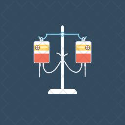 Blood Transfusion Icon