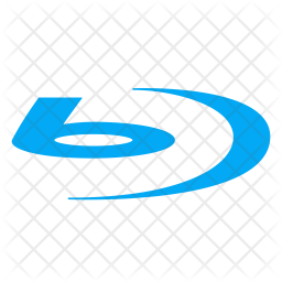 Blu Ray Icon Of Flat Style Available In Svg Png Eps Ai Icon Fonts