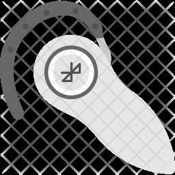 Bluetooth Earphone Icon