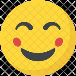 Blushing Face Icon