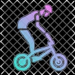 Bmx Cycle Icon