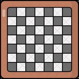 Board Game Colored Outline Icon