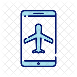 Boarding Pass Online Icon