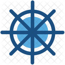 Boat Steering Icon