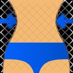 Body Curve Gradient Icon