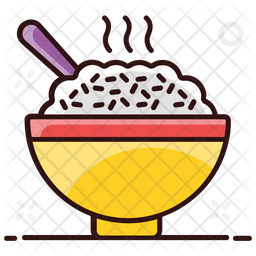 Boiled Rice Icon