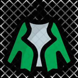 Bolero Jacket Icon