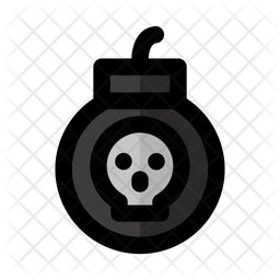 Bomb Icon Of Colored Outline Style Available In Svg Png Eps Ai Icon Fonts