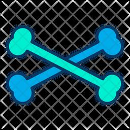Bone Colored Outline Icon