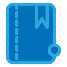 Book Colored Outline Icon