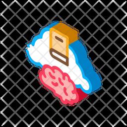 Book Cloud Icon